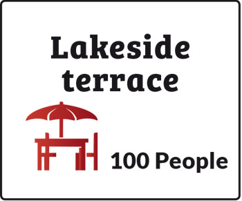 Lakeside terrace
