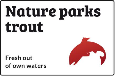 Nature parks trout